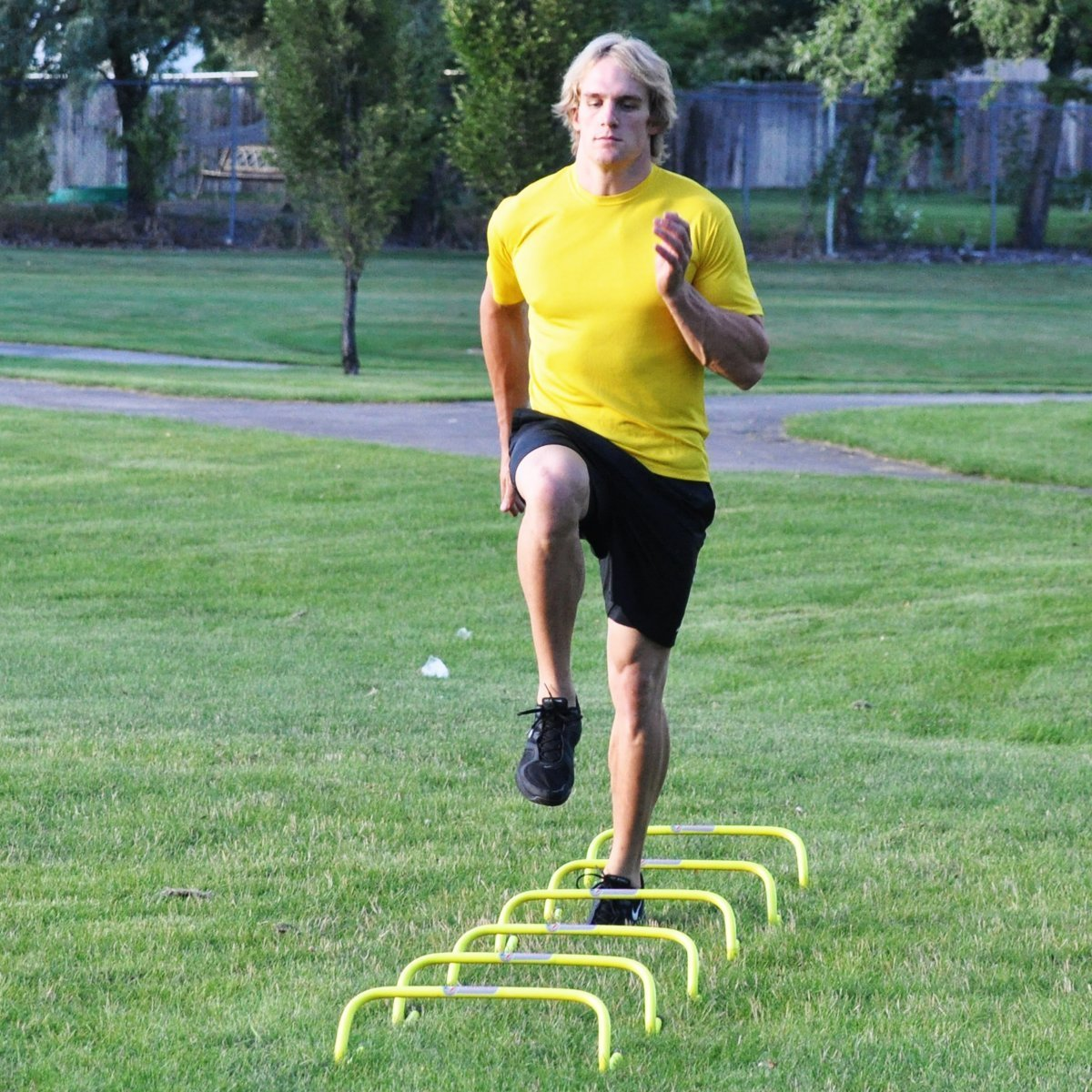 how to make agility hurdles
