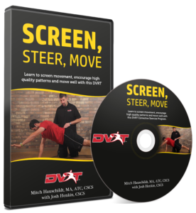 Screen, Steer, Move - DVD