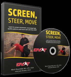 Screen, Steer, Move - DVD