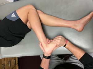 Tibial IR Mobilization
